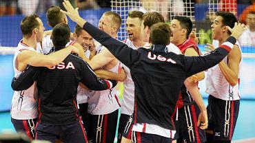 Liga Światowa. Polska - USA 1:3. Radość Amerykanów