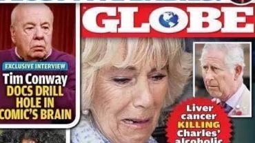 Okładka magazynu 'Globe'
