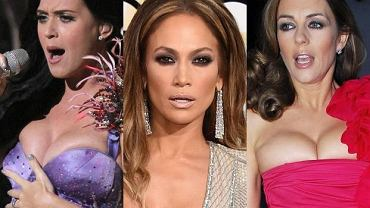 Katy Perry, Jennifer Lopez, Elizabeth Hurley