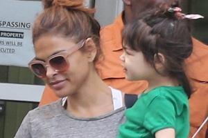 Eva Mendes z córką