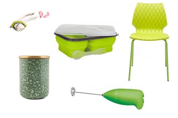 Kuchenne gadżety w zielonym kolorze