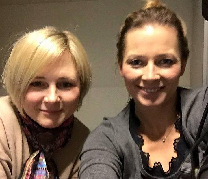 Odeta Moro i Maja Popielarska w programie 'Morowy Weekend'