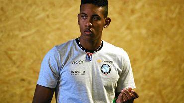 siatkówka, Kubańczyk David Fiel trenuje z Cerrad Czarnymi Radom