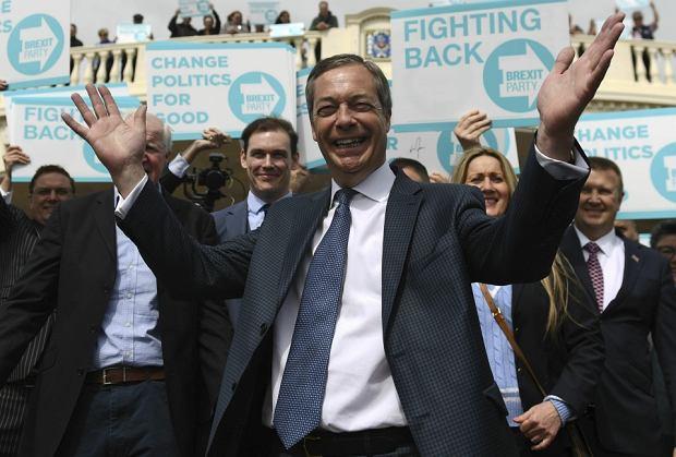 Nigel Farage, były lider eurosceptycznej Partii Niepodległości, był jednym z czołowych brytyjskich polityków opowiadających się za brexitem