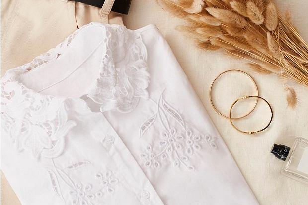 Koszula w romantycznym wydaniu