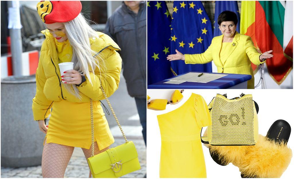 Żółty wraca do łask. Nawet w polskiej polityce