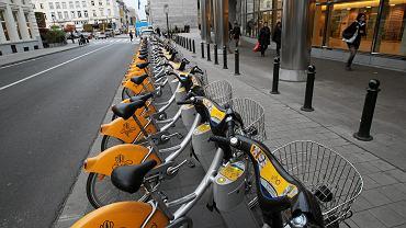 Rowery miejskie w Brukseli