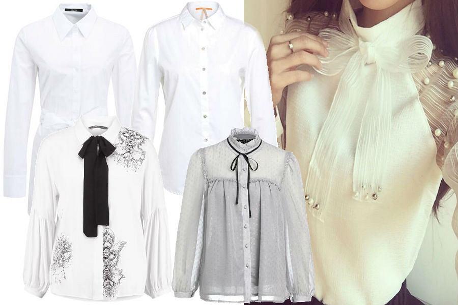 fot. materiały partnera/ białe koszule na jesień