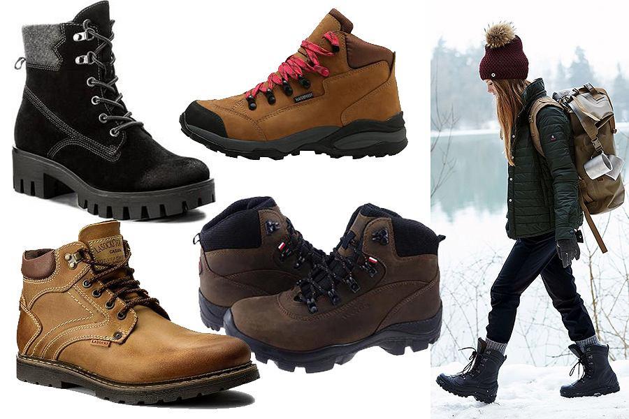 Buty zimowe turystyczne
