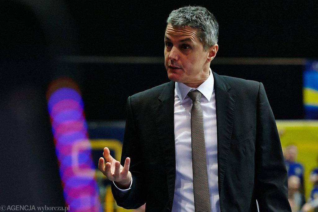 Zoran Martić nie jest już trenerem koszykarzy Trefla