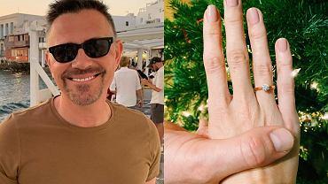 """Krzysztof Ibisz zaręczył się? Jego wybranką ma być uczestniczka """"Top Model"""". Pokazała pierścionek z brylantem!"""