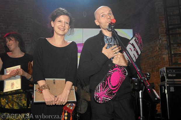 Iwan Wyrypajew i Karolina Gruszka na gali Wdechy 2010