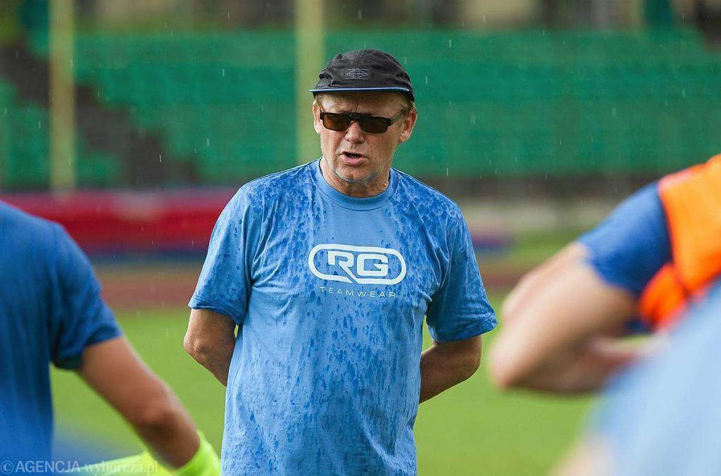 Trener Mirosław Jabłoński