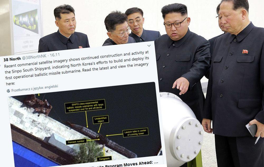 Korea Północna pracuje nad okrętem