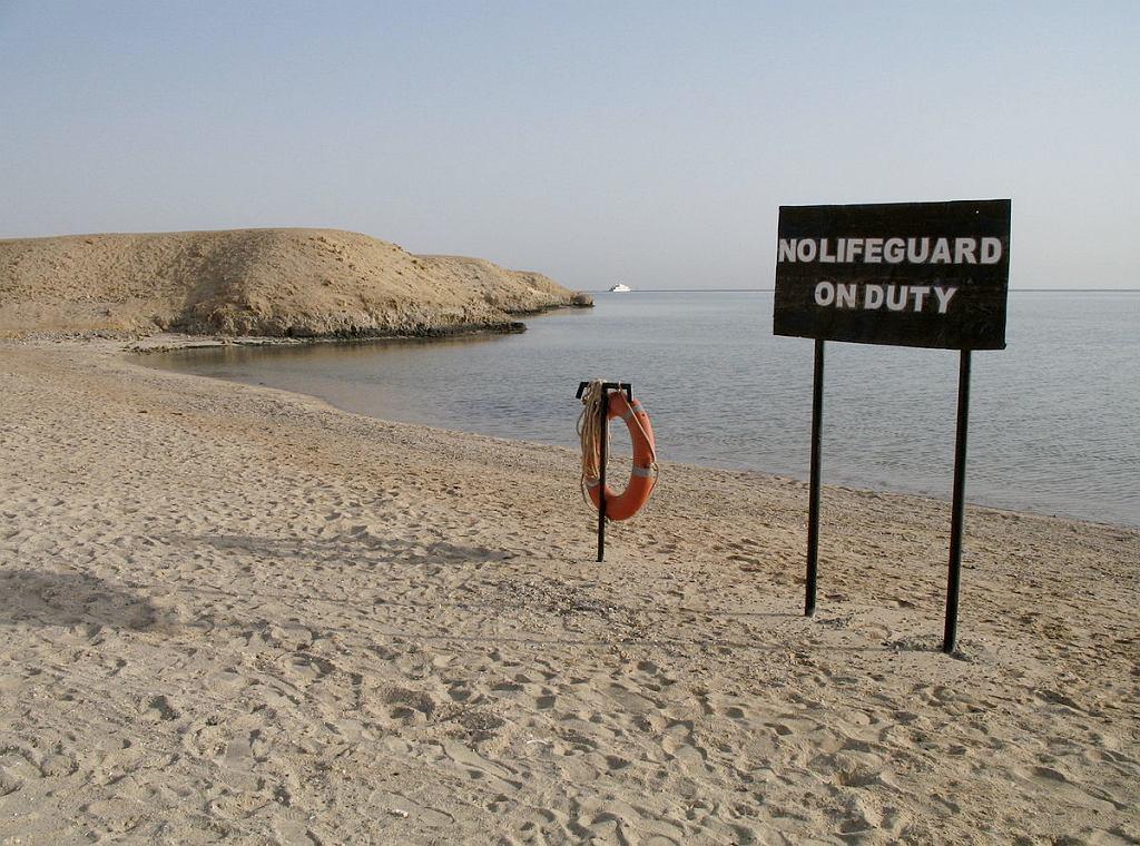 Plaża w okolicy Marsa Alam