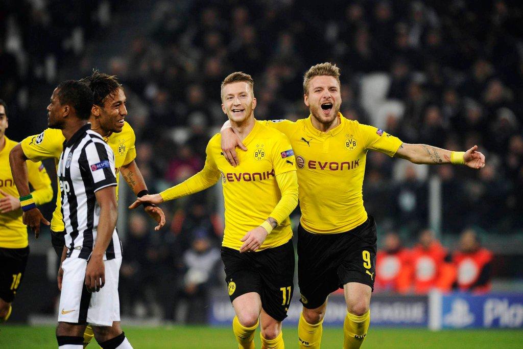 Juventus - Borussia 2:1. Marco Reus i Ciro Immobile