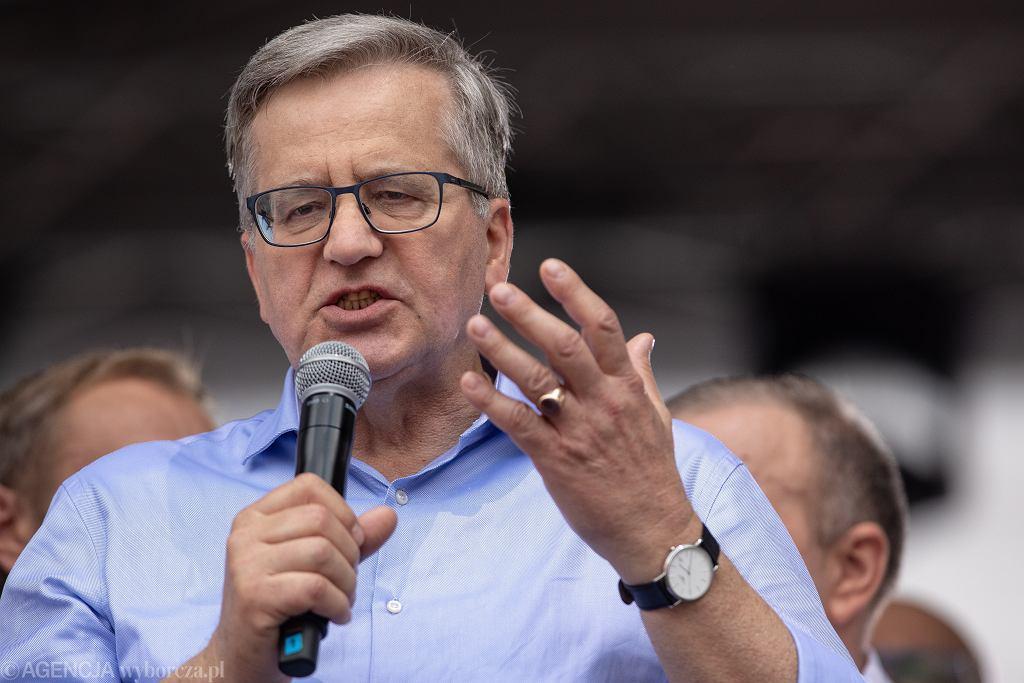 30. rocznica wyborów czerwcowych. Bronisław Komorowski: 'Komunizm skończył się 4 czerwca'