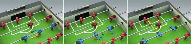 Nietypowy sport: piłkarzyki, sport, zagrywka 2: Firmówka