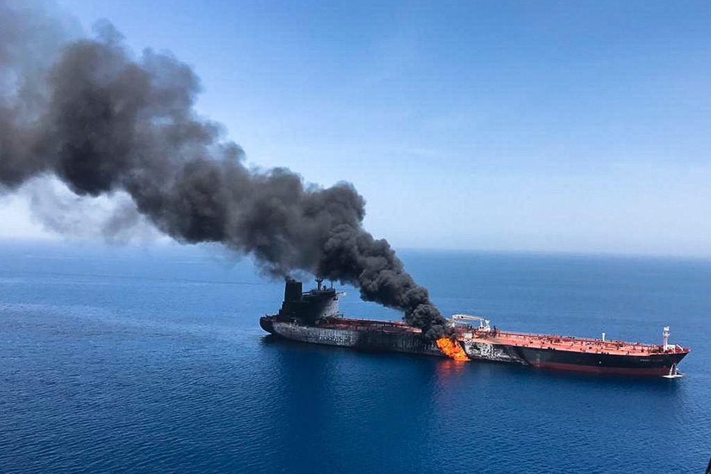Atak na tankowce w Zatoce Osmańskiej