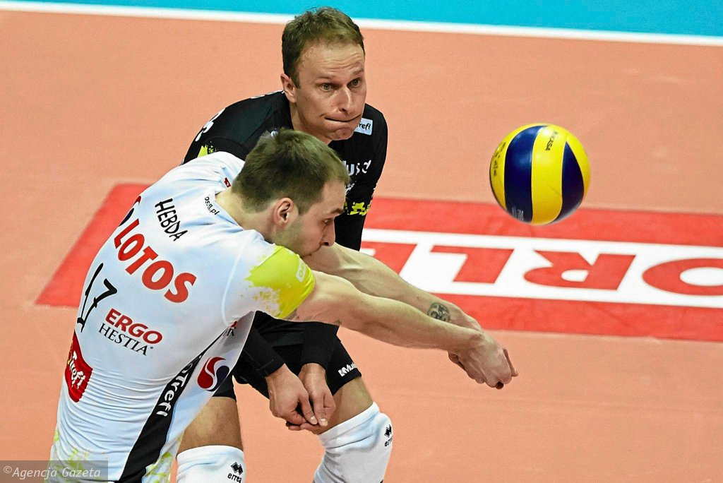 Miłosz Hebda i Piotr Gacek