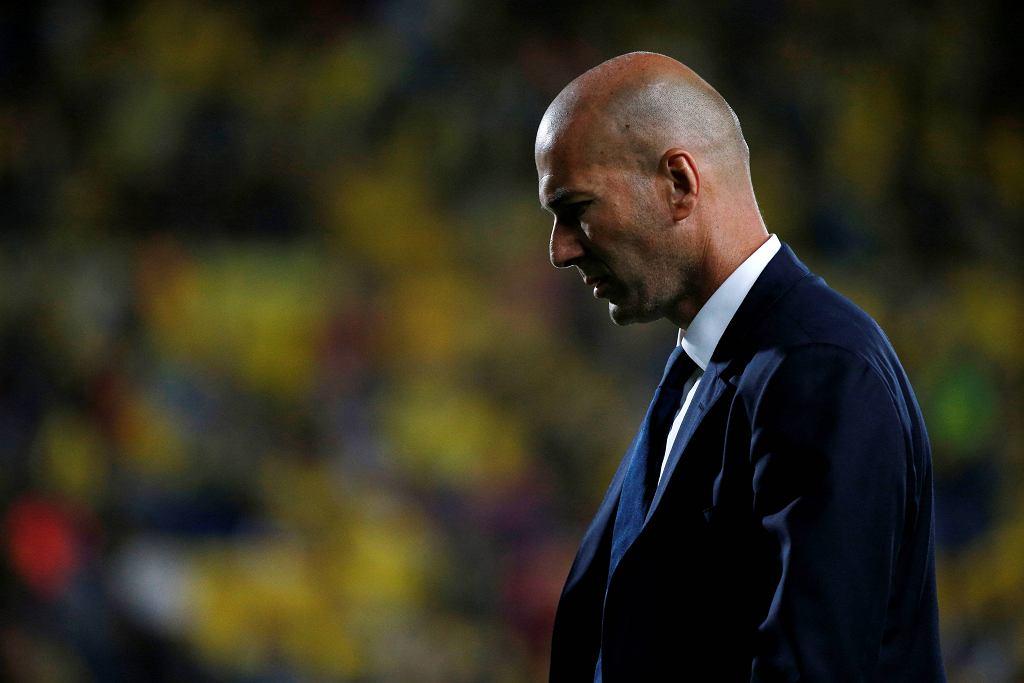 Zinedine Zidane po meczu Las Palmas - Real Madryt