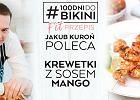 Jakub Kuroń poleca: Krewetki z sosem mango