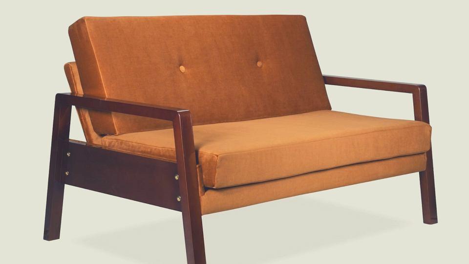 Krasse - sofa na wypasie inspirowana PRL-em.