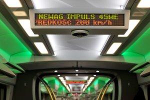 To najszybszy polski pociąg. Impuls pojechał 226 km/godz. Zobacz wideo i galerię zdjęć