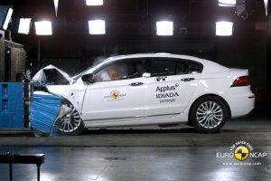Test zderzeniowy Qoros 3 Sedan