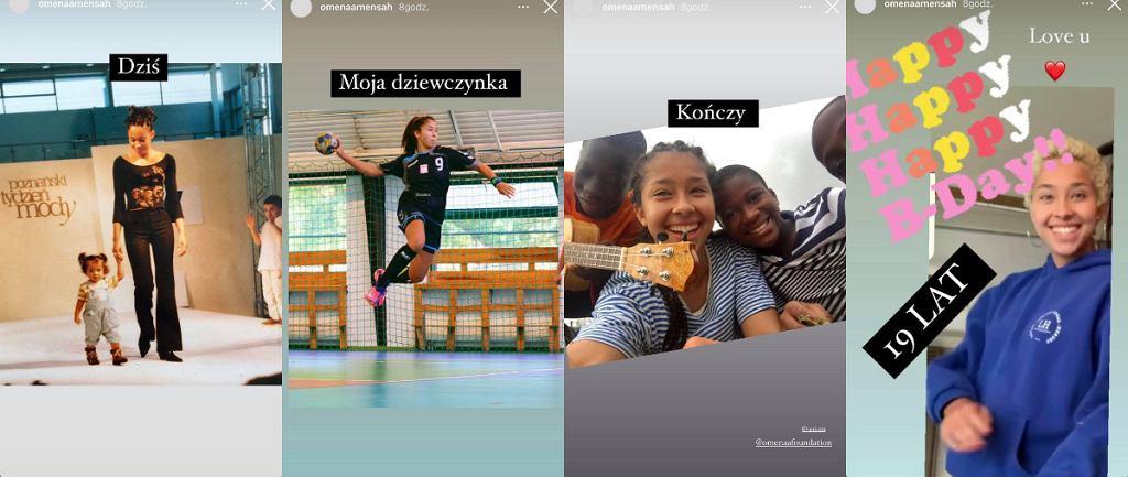 Omenaa Mensah córka
