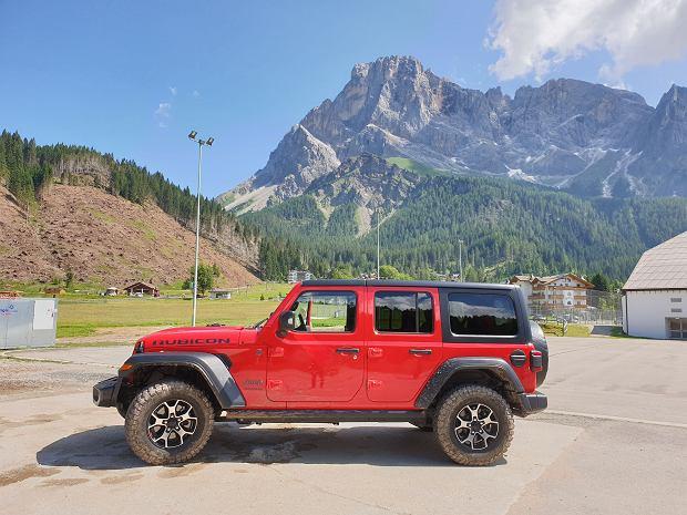 Jeep Wrangler Unlimited Rubicon w wersji 5d
