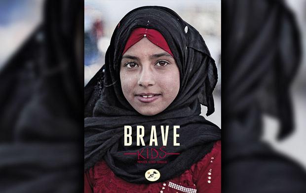 Plakat promujący projekt Brave Kids