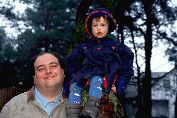 Mała Gaja z tatą