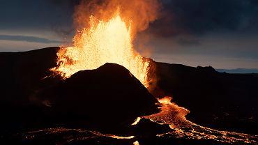 Dron przeleciał nad wulkanem i wpadł do lawy. 'Absolutnie nierealne'