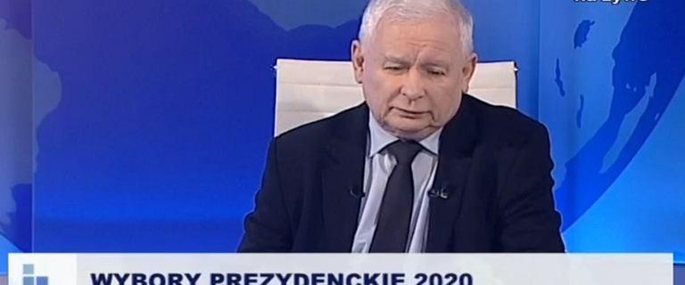 Kaczyński w TV Trwam przestrzega przed oponentami i niemieckimi mediami