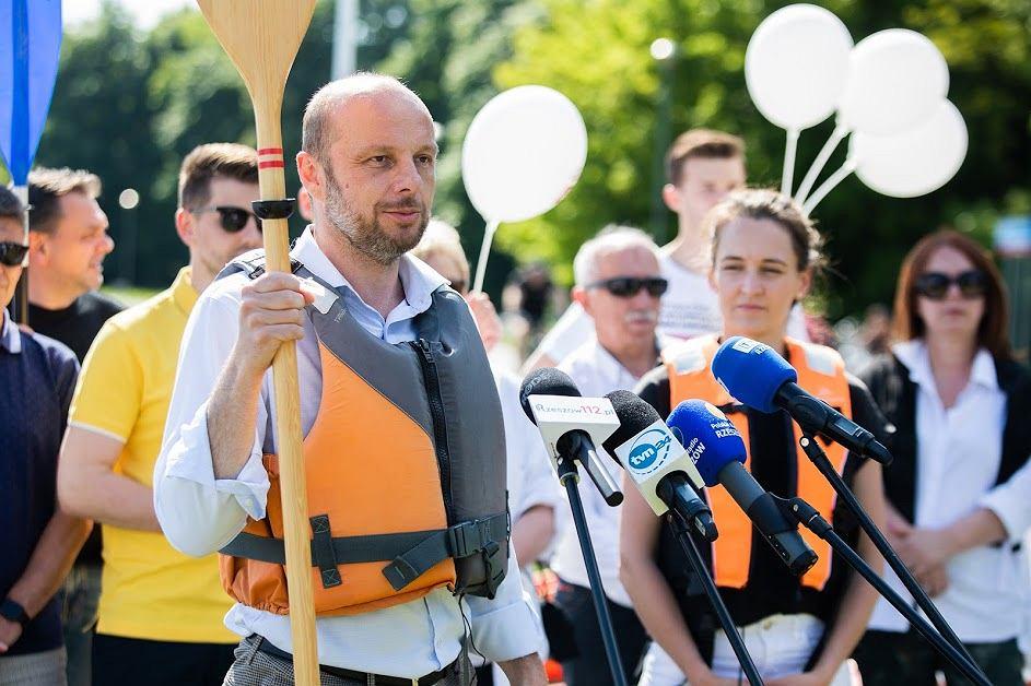 Wybory prezydenckie w Rzeszowie. Konrad Fijołek mówi o planach zagospodarowania brzegów Wisłoka