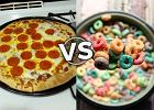 Pizza na śniadanie lepsza od płatków? Tak, to nie żart