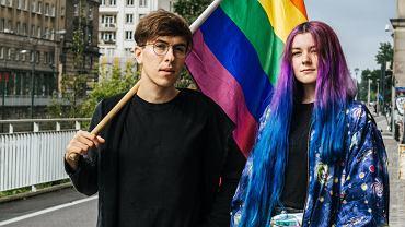 Małgorzata Szutowicz (z lewej)i Łania Madej, twórczynie strony Stop Bzdurom