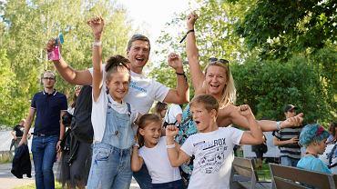 Ludzie z całej Polski bawią się na Olsztyn Green Festival
