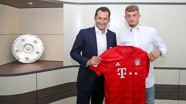 Bayern Monachium ma nowego piłkarza. Na zdjęciu Hasan Salihamidzić i Michael Cuisance