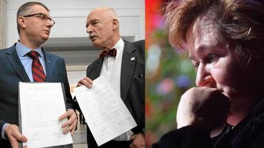 Przemysław Wipler, Janusz Korwin-Mikke, Magdalena Środa