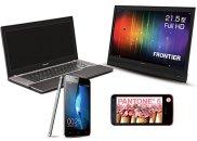 Azjatyckie rekordy techno, laptopy, tablet, smartfon, telefony komórkowe, Azjatyckie rekordy techno: Sharp Pantone 107SH; Kouziro FT103; Oppo Finder; Toshiba U840W