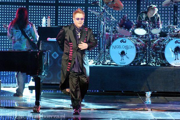 Elton John - koncert w Sopocie w 2006 roku.