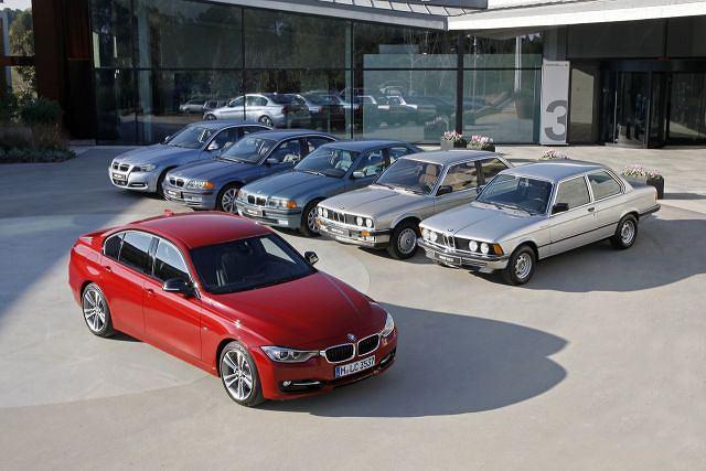 BMW serii 3 (sześć generacji)