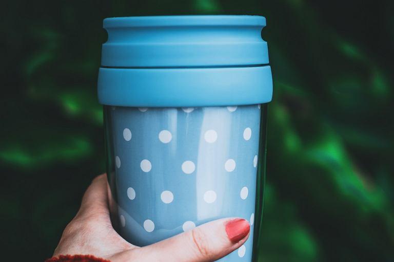 Kubek termiczny do kawy lub herbaty