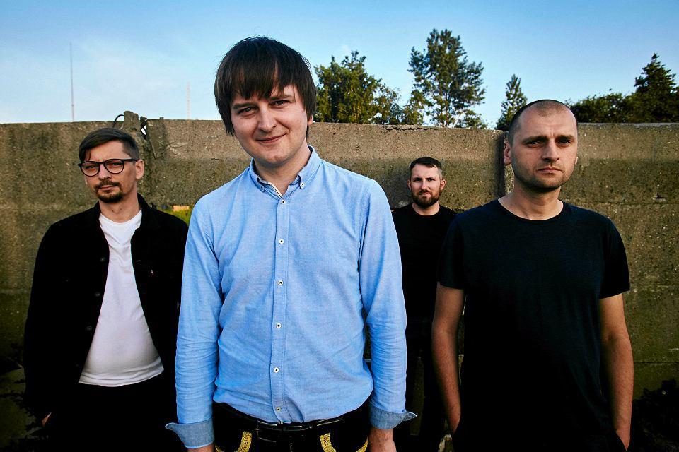 Trupa Trupa, czyli od lewej: Tomasz Pawluczuk, Grzegorz Kwiatkowski, Rafał Wojczal, Wojciech Juchniewicz