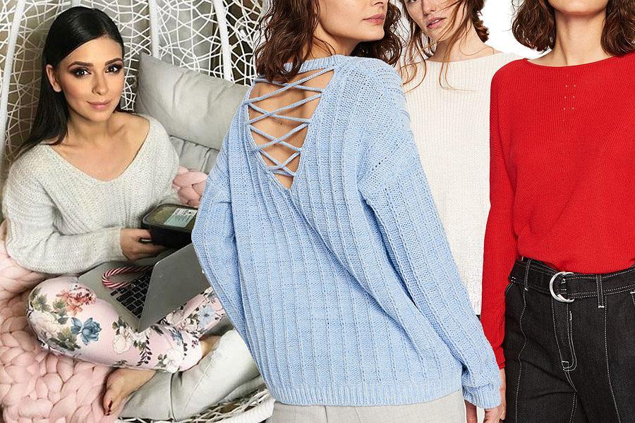 Kolaż, sweter/Materiały partnera