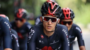 27.08.2020, Nicea, Michał Kwiatkowski podczas treningu przed startem pierwszego etapu Tour de France.