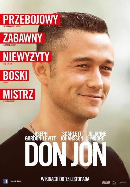 Don Jon  (Don Jon) Dramat, Komedia, USA 2013, 90 minut Reżyser: Joseph Gordon-Levitt Dystrybutor: Best Film