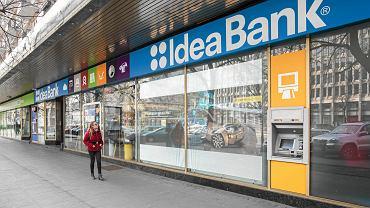 Placówka Idea Bank przy ul. Marszałkowskiej w Warszawie.